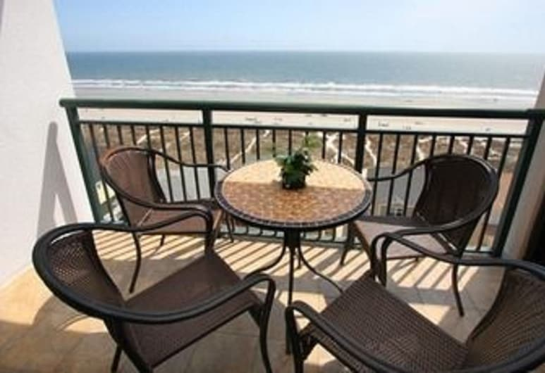 Beachwalk Villas by Elliott Beach Rentals, North Myrtle Beach, Apartamento em Condomínio Fechado, Varanda