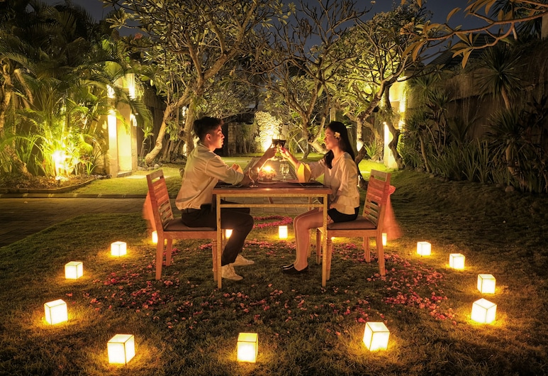 The Wolas Villa & Spa, Seminyak, Outdoor Dining