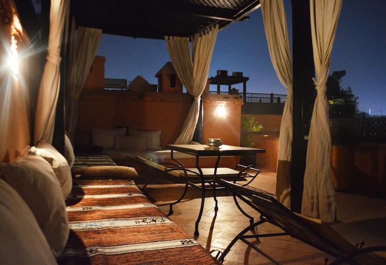 Riad Dar Ihssane, Marrakesch, Terrasse/Patio