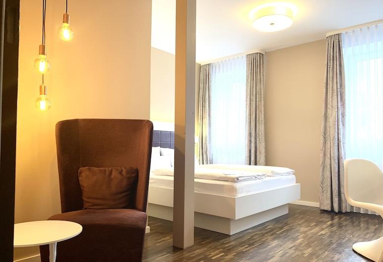 Zeitwohnhaus Suite Hotel & Serviced Apartments, Erlangen, Double premium, Hosťovská izba