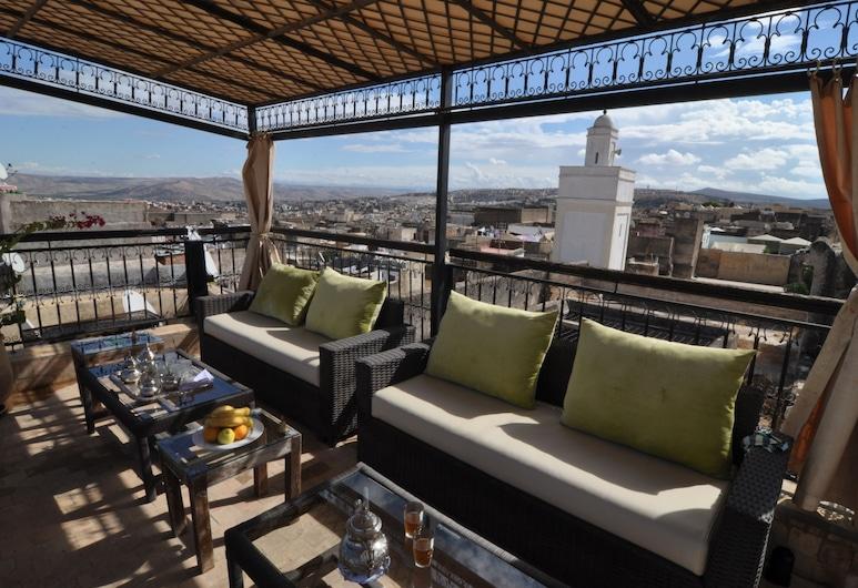 Riad Adarissa, Fes, Terrace/Patio
