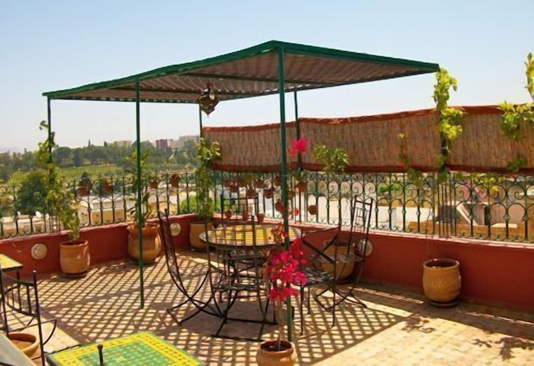 Riad Idrissi, Meknes, Terrace/Patio