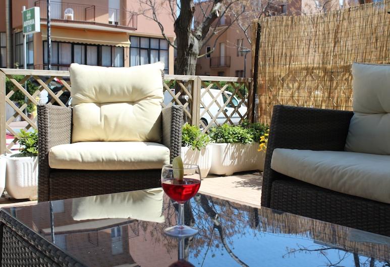 Hotel Caesar, Pesaro, Terrace/Patio