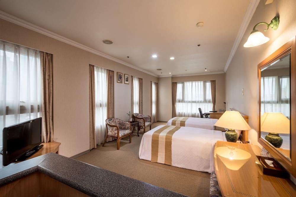 Standard Δίκλινο Δωμάτιο (Twin), 2 Μονά Κρεβάτια - Δωμάτιο επισκεπτών