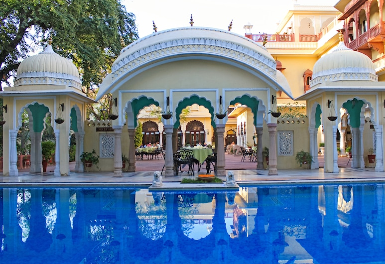 Alsisar Haveli - A Heritage Hotel, Jaipur, Property Grounds