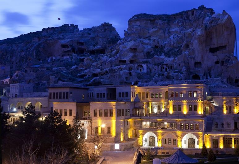 Fresco Cave Suites / Cappadocia - Special Class, Urgup, Hotel Front – Evening/Night