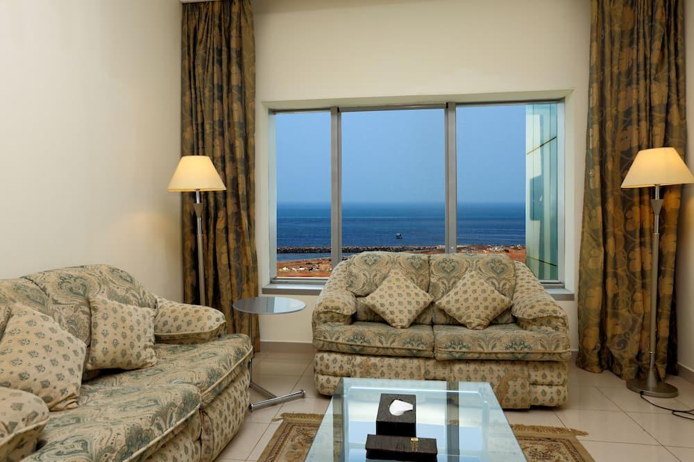 Suite Eksekutif, pemandangan laut - Ruang Keluarga