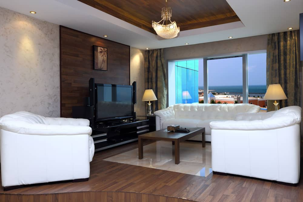 Suite Eksekutif, pemandangan laut - Area Keluarga
