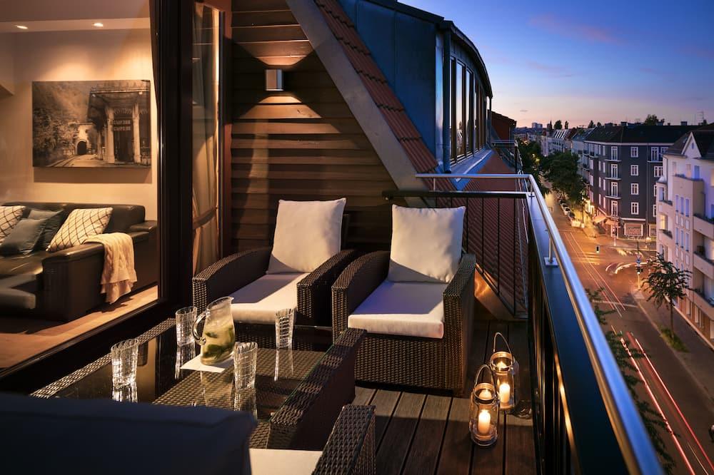 Keyless Easy Entry 24/7 - Deluxe 1 Bedroom Apartment - Balcony