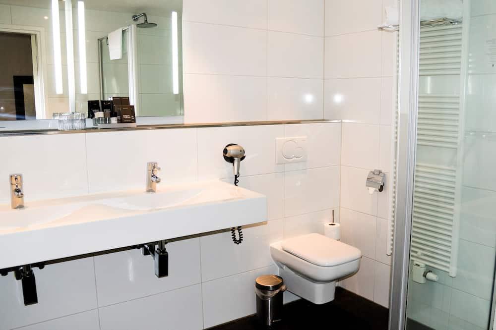 Luxury-Doppelzimmer zur Einzelnutzung - Badezimmer