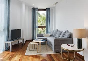 Sevilla bölgesindeki azz Apartamentos Torre de la Plata resmi