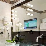 Deluxe-Zimmer, Nichtraucher - Waschbecken im Bad