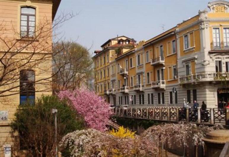 Antica Locanda Solferino, Milano, Facciata hotel
