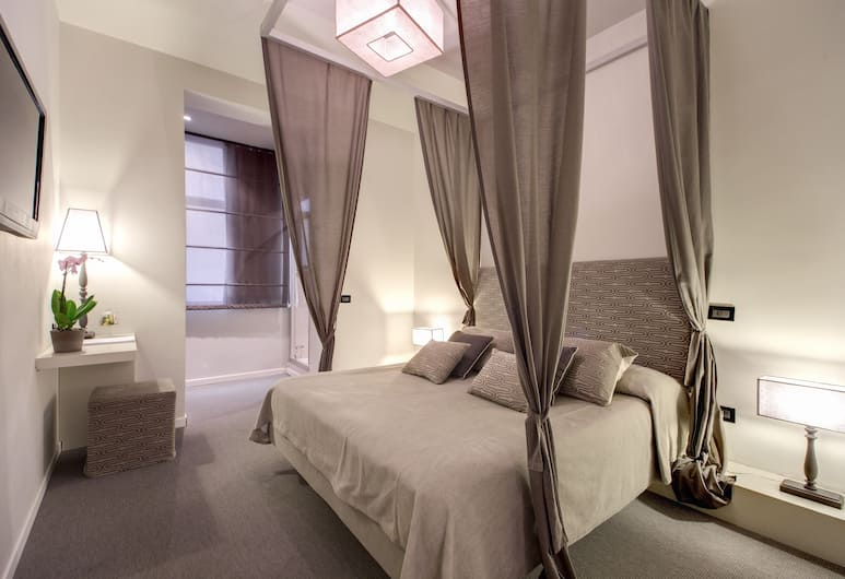Residenza Bourbon, Rome, Superior Double Room, Guest Room