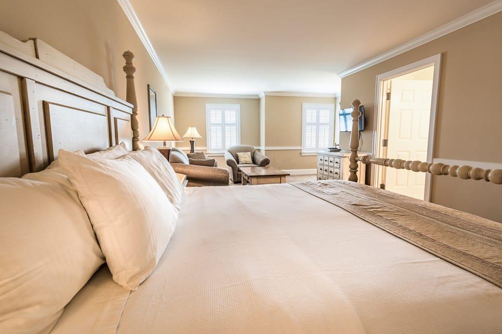 Kamar, 1 Tempat Tidur King dengan tempat tidur Sofa - Kamar Tamu