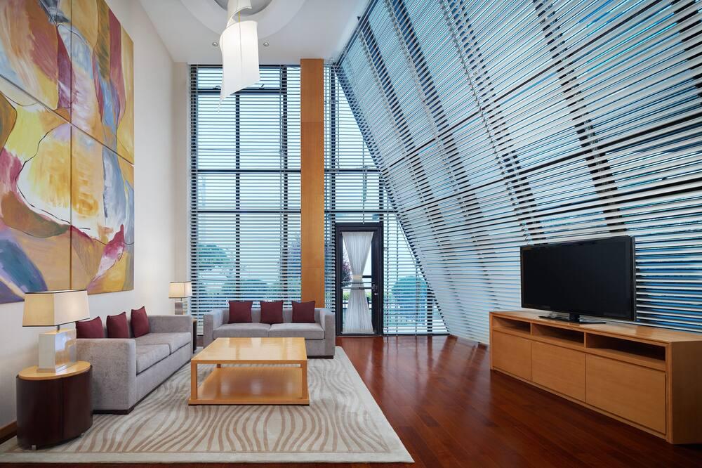 Club Villa, 2 Bedrooms, Terrace, View - Living Room
