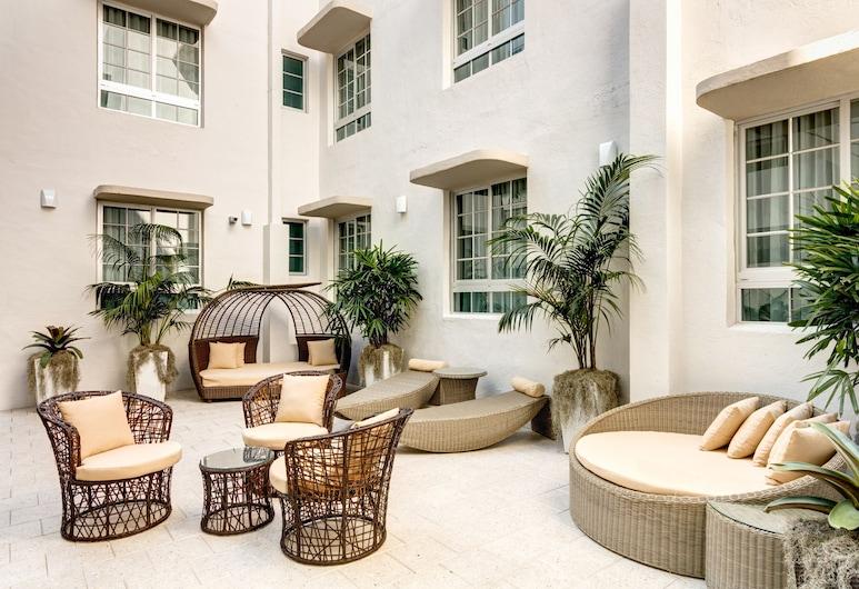 The L Hotel, Miami Beach, Terrasse/veranda