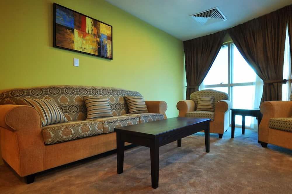 ห้องรอยัลสวีท, 2 ห้องนอน (Panorama) - ห้องนั่งเล่น