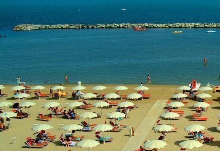 Residence Algarve, Rimini, Spiaggia