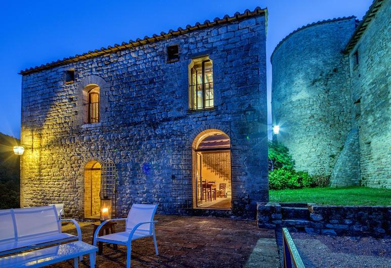 瓦兰吉诺城堡, 翁贝蒂德, 普通套房, 露台