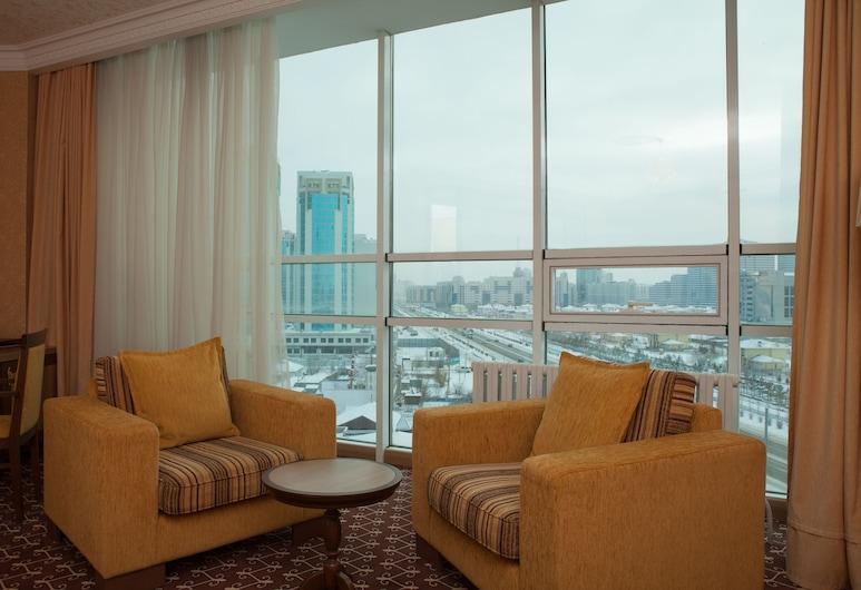 Jumbaktas Hotel, Nur-Sultan, Business Room, 1 Double Bed, City View, Guest Room