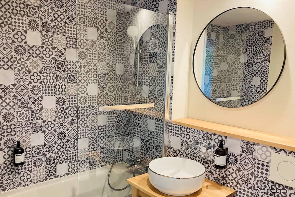 高級雙人房, 非吸煙房, 浴缸 - 浴室