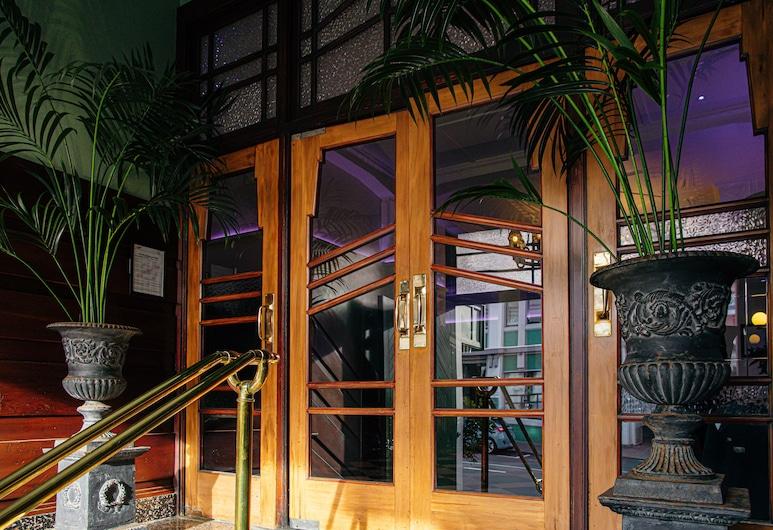 Art Deco Masonic Hotel, Napier, Interior Entrance