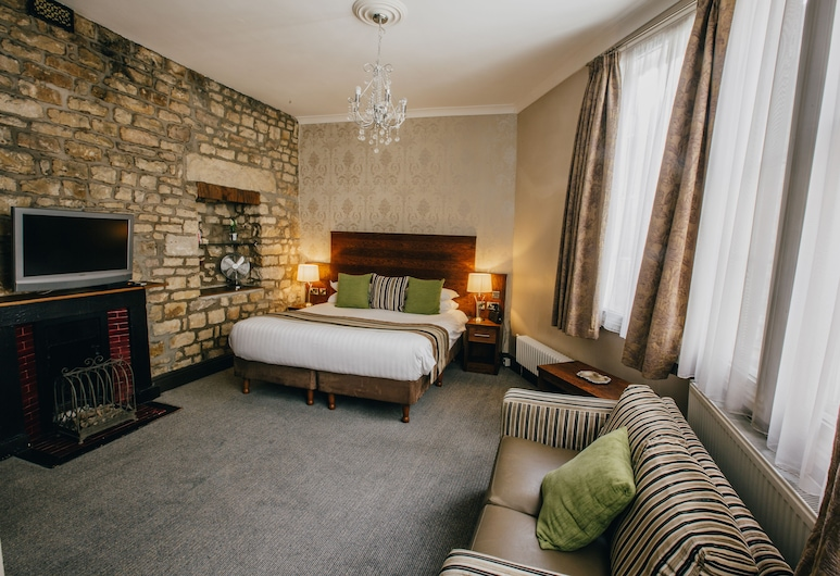 The Sun Hotel & Bar, Lancaster, Luxury Double Room, 1 King Bed, Guest Room