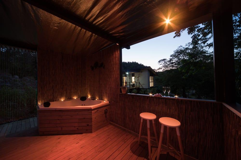 Вілла, 1 спальня (Bamboo Retreat) - Спа-ванна під відкритим небом