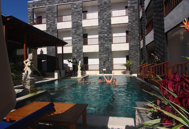 Mamo Hotel Uluwatu, Pecatu, Udendørs pool