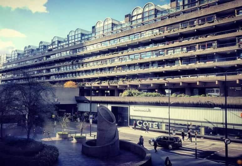 Barbican Rooms, Londen, Deluxe tweepersoonskamer, Uitzicht vanaf kamer