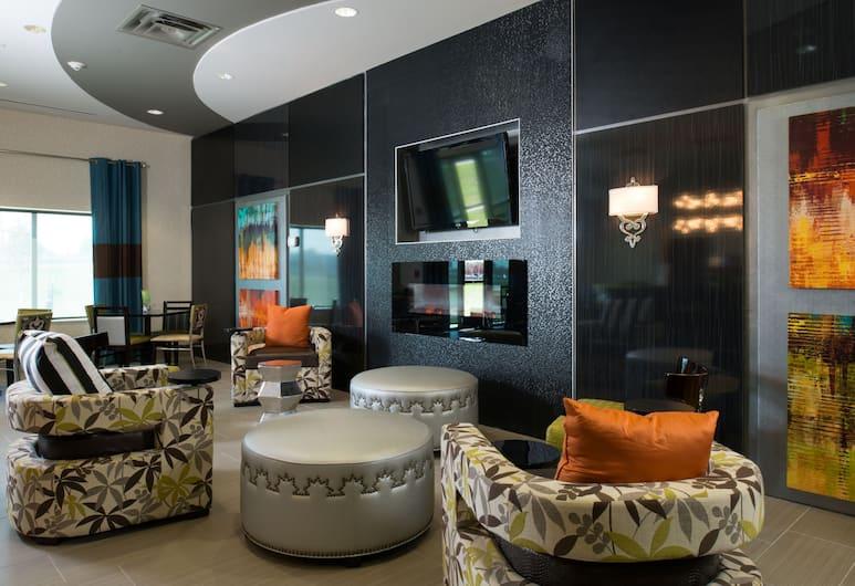 堪薩斯市機場智選假日酒店及套房, 堪薩斯市, 大堂閒坐區
