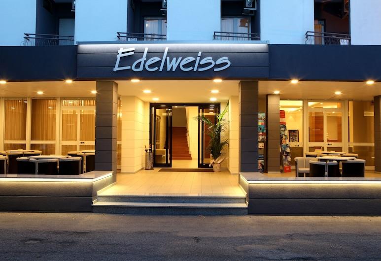 Hotel Edelweiss, Riccione, Hótelinngangur