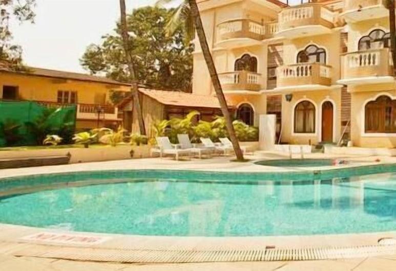 Sukhmantra Resort, Candolim, Εξωτερική πισίνα