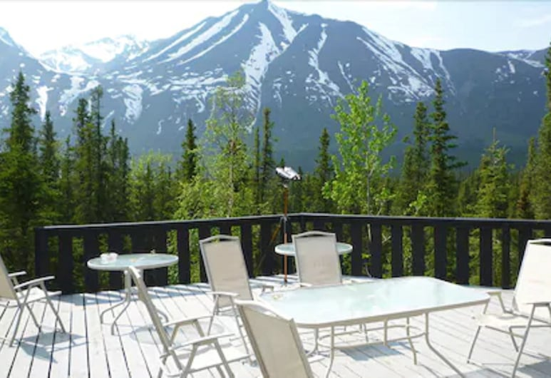 Denali Perch Resort, Denali Nationalpark, Terrasse/Patio