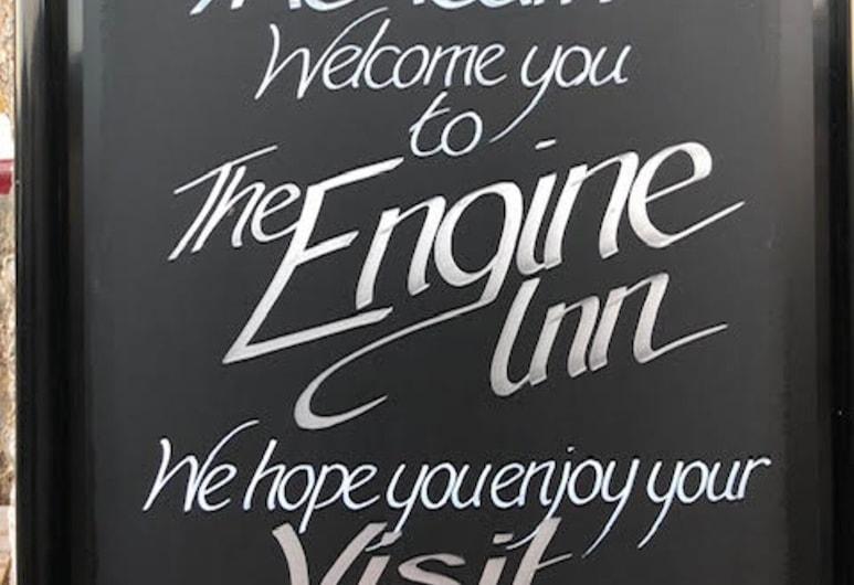 the Engine Inn, Penzance, Hotellbar