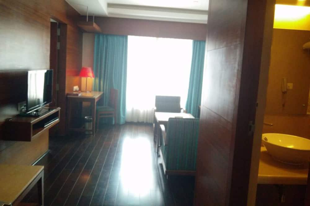 Executive suite, 1 kingsize bed - Woonruimte