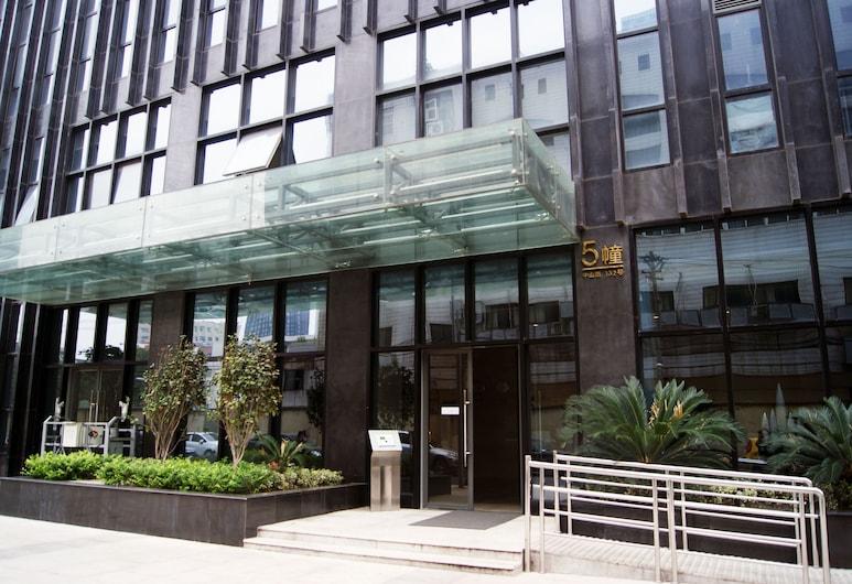 南京凱賓南京酒店公寓珠江路木馬店, 南京市, 住宿正面