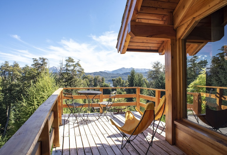 Colina del Manzano, Villa La Angostura, Domek wypoczynkowy (For 4 People), Taras/patio