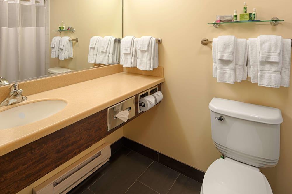 Apartmá, dvojlůžko (200 cm), nekuřácký - Koupelna