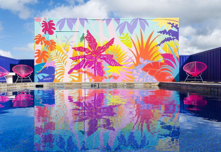 쇼어라인 호텔 와이키키, 호놀룰루, 야외 수영장