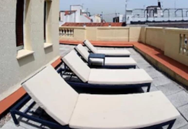 Hostal Abadía Madrid, Madrid, Superior-Doppelzimmer, Terrasse, Terrasse/Patio