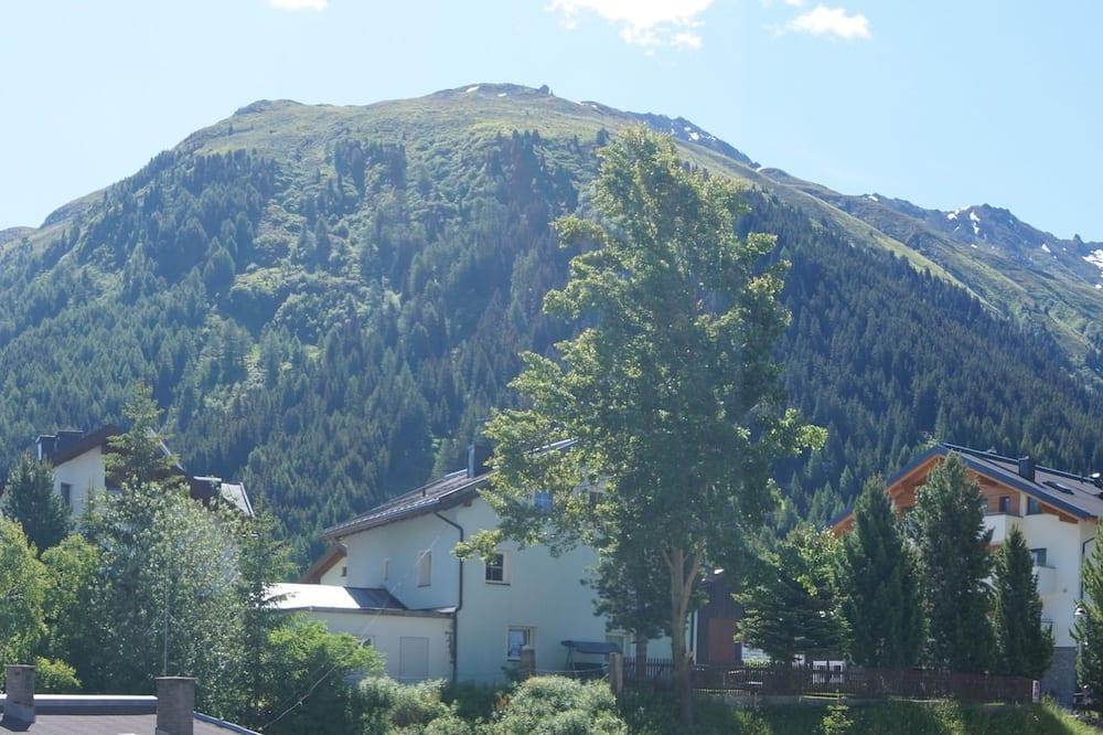 Одноместный номер «Комфорт», балкон, вид на горы - Номер