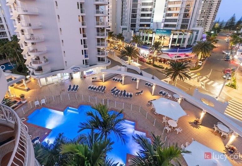 Broadbeach Holiday Apartments, Broadbeach, Piscina al aire libre