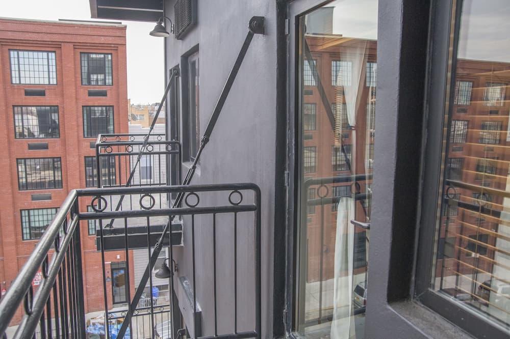 Номер, 1 спальня, з балконом - Балкон