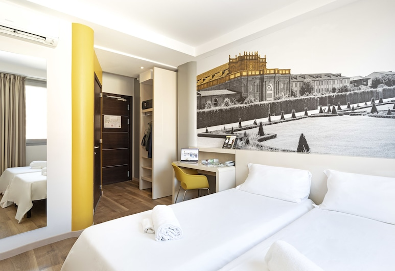 B&B Hotel Torino, Turin, Twin Non-Smoking Room, Guest Room