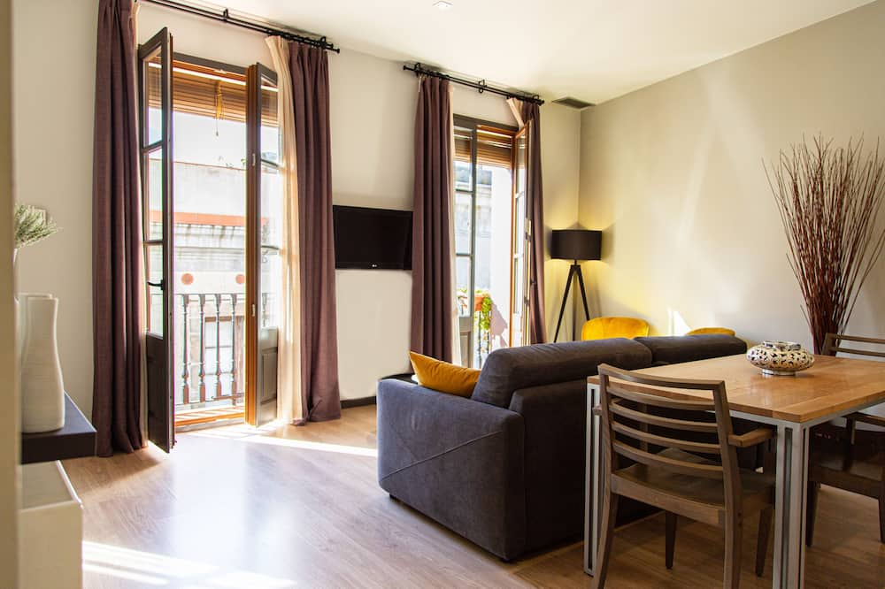 Superior appartement, Balkon - Woonruimte