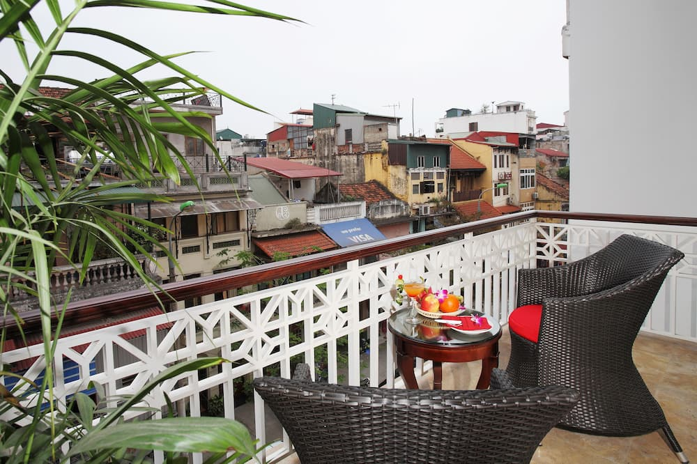 Студія-люкс - Балкон