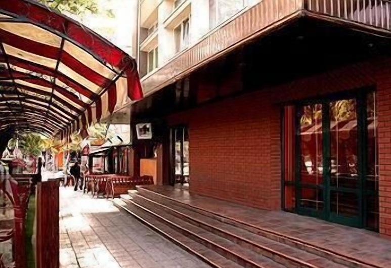 Hotel Orbita, Varna, Hotel Entrance