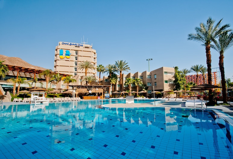 U Coral Beach Club Eilat Ultra All Inclusive, Ейлат, Басейн